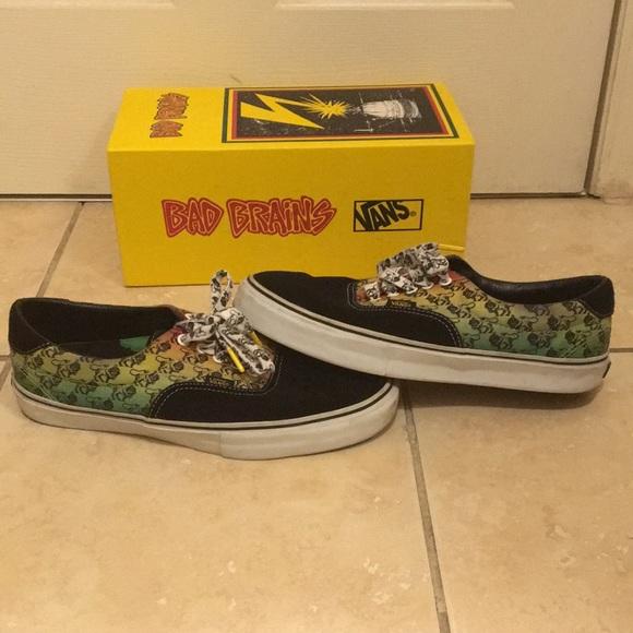 7752914e4e Vans x Bad Brains 46 LE Yellow Black Size 11.5. M 5aad664200450fdcafc31cc6